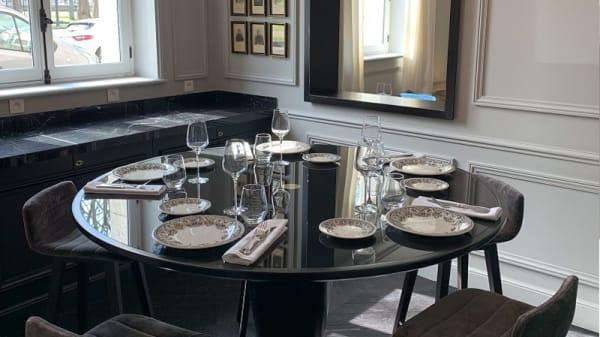 Table dressée - Le Damantin, Paris