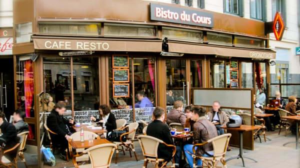 Terrasse - Bistro du Cours, Nantes