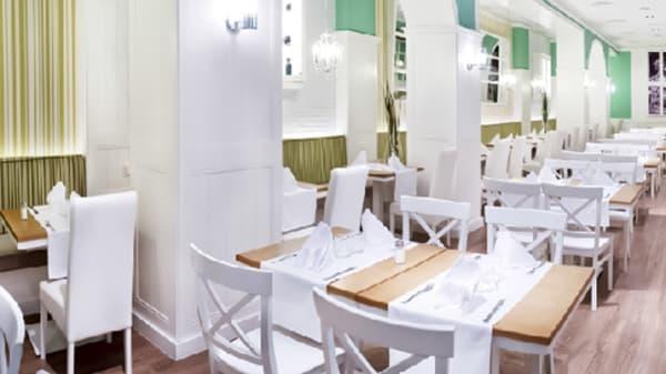 Vista del comedor - La Bella Anna, Madrid