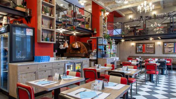 Veduta dell'interno - Nietta - Pizzeria e Friggitoria Milano, Milano