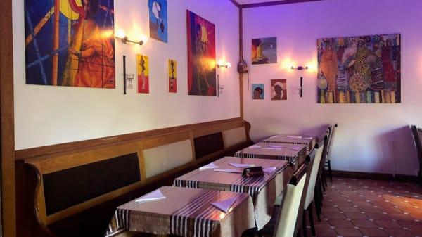 Rum - Gojo Etiopisk Restaurang, Stockholm