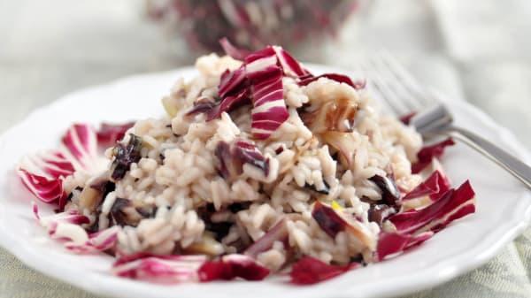 Proposta di riso al radicchio - Agriturismo Campiano, Pavullo Nel Frignano