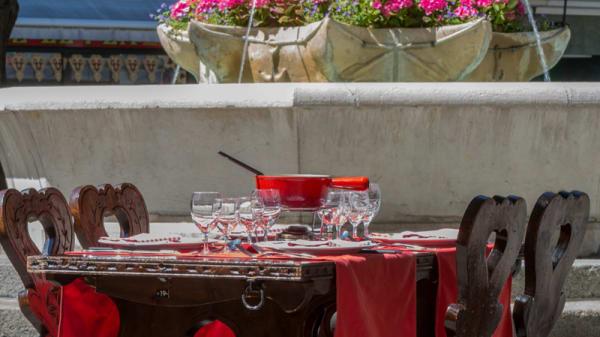 Restaurant Edelweiss - terrasse - Edelweiss, Genève