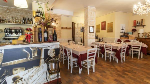 Vista sala - Locanda Ristori, Verona