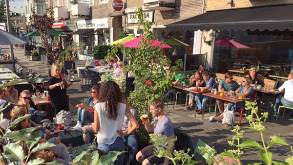Ingang - Jack Dish, Amsterdam