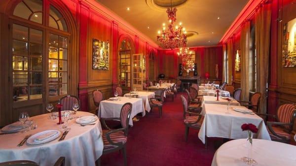 salle - Restaurant Le Cercle - Hotel La Maison Rouge, Nœux-les-Mines