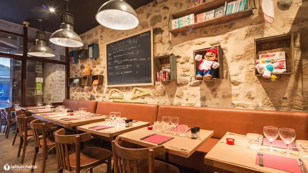 Tables dressées - Les Fils à Maman Bordeaux, Bordeaux