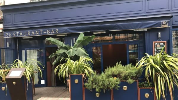 Terrasse - INKA Restaurant, Paris