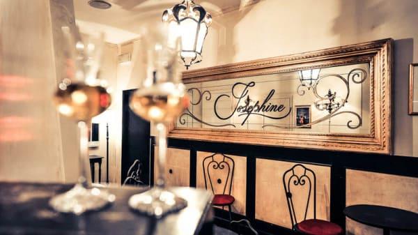 Vista sala - Josephine Bistrot, Rome