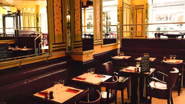 Salle du restaurant - La Tartine, Paris