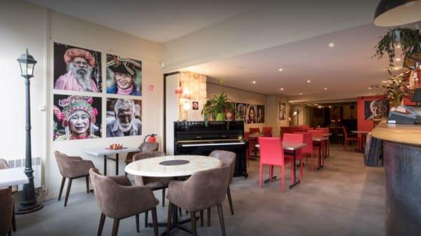 Salle du restaurant - Café de la Paix, Auvers-sur-Oise