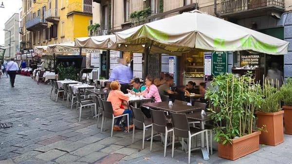 terrazza - El Beverin, Milaan