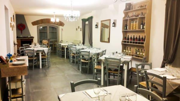 Sala del ristorante - Villa Etra