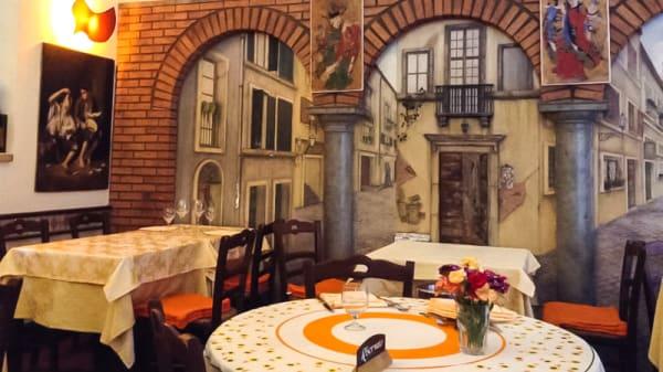 Interno - Osteria del Pegno, Rome