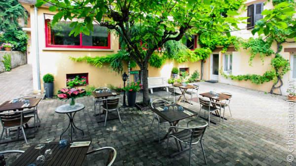 terrasse - La Terrasse Fleurie, Divonne-les-Bains