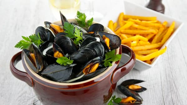 Moules and chips - Moules and Chips, Lyon