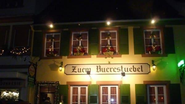 Restaurant - Winstub Zuem Buerestuebel, Niederbronn-les-Bains