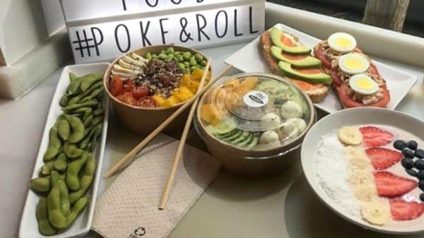 Sugerencia de plato - Poke&Roll, Madrid