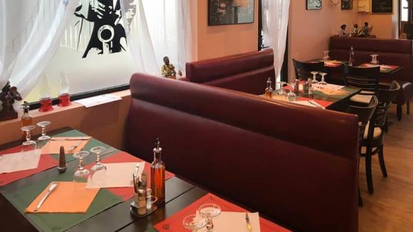 Vue de la salle - Pizzeria Jazz, Maisons-Alfort