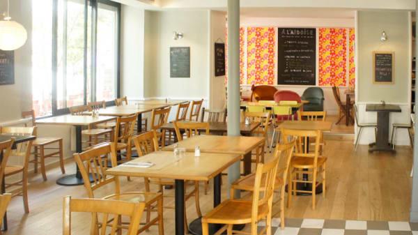Salle - Café La Fleur, Puteaux