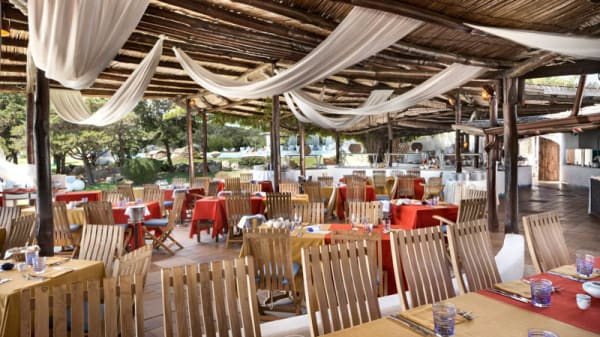 Vista sala - Romazzino Barbecue Restaurant, Porto Cervo