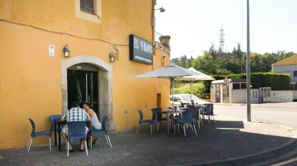 La terraza - El 9Burg, Gerona