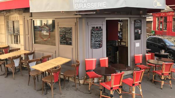 Les Tanins bar à vins, Paris