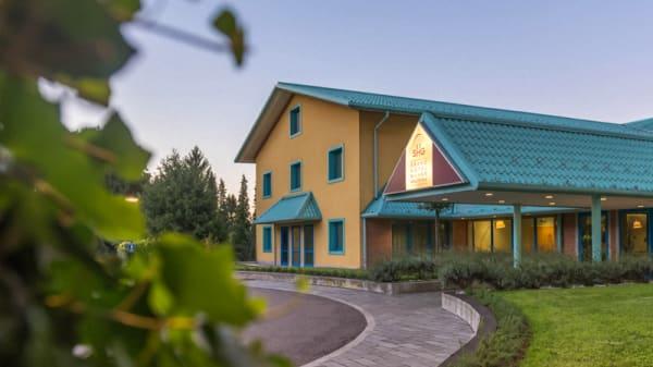 Ingresso principale Hotel - Ristorante Lindbergh, Somma Lombardo