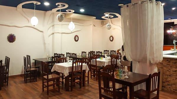 Sala del restaurante - Taj Mahal Tandoori Lorca, Lorca