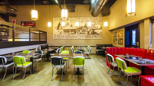 Vista della sala - Cafeteria, Treviolo