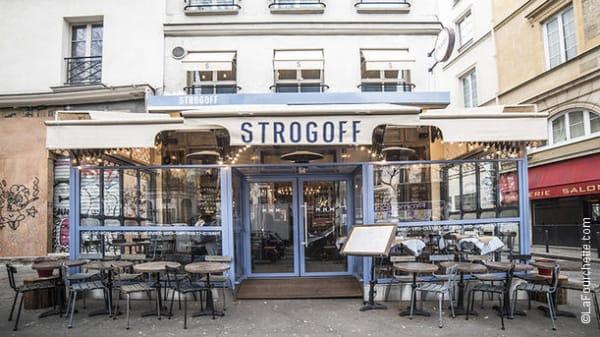 devanture - Strogoff, Paris