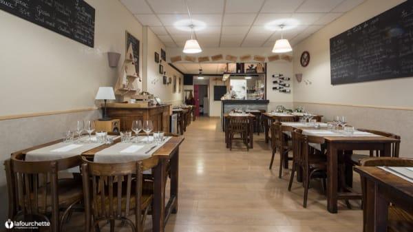 Salle du restaurant - Le 9...Ô Plat, Bordeaux