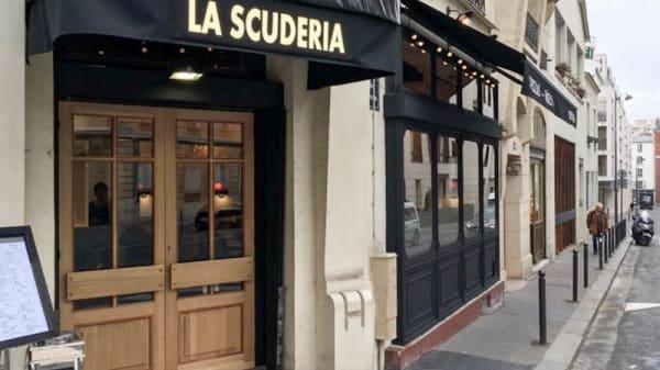 Devanture - La Scuderia, Paris-15E-Arrondissement
