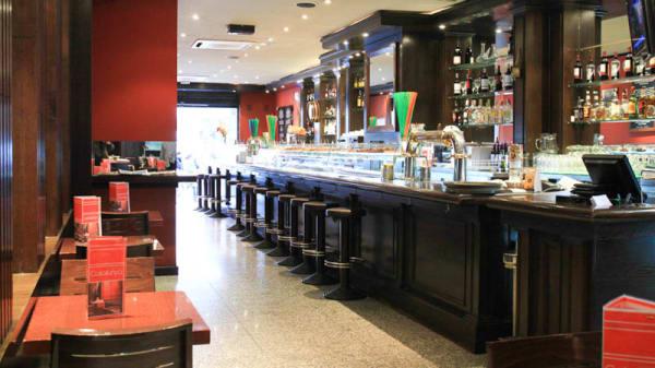 Vista Sala - Café Catalunya (inactiva), Barcelona
