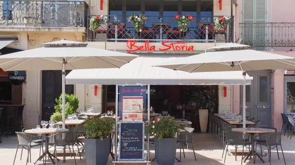 Entrée - BELLA STORIA, Cannes
