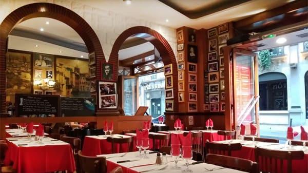Vue de la salle - Firenze, Paris