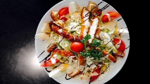 Salade césar - Brasserie G&G, La Fare-les-Oliviers