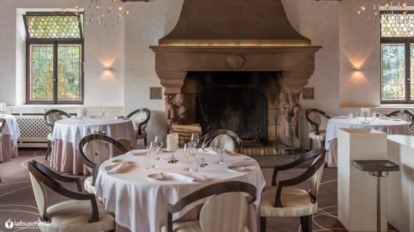 Vue de la salle - Auberge du Cheval Blanc, Lembach