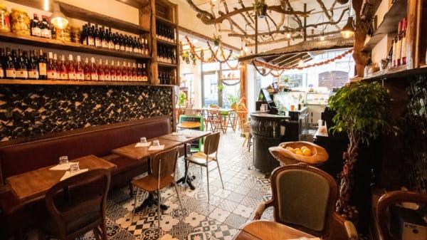 Salle du restaurant - Vege, Paris