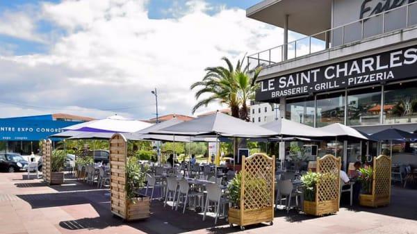 Terrasse - Le Saint-Charles, Mandelieu-la-Napoule