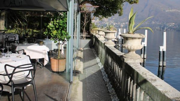 ristorante visto lago - Acquadolce Lake Como, Carate Urio