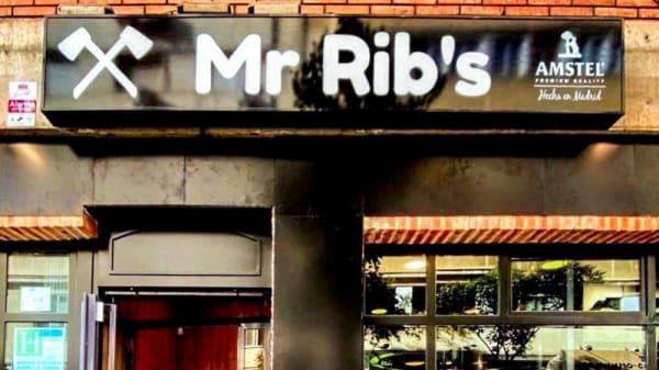 Entrada - Mr Rib's, Madrid