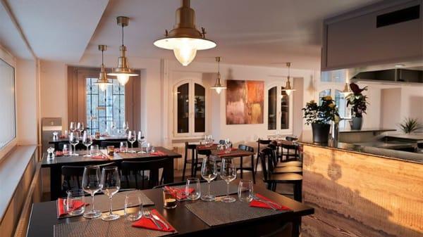 Vue de la salle - Les Foodies, Lutry