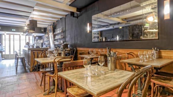 Salle du restaurant - Le Tire Bouchon, Marseille