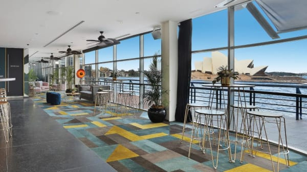 Interior View - Rooftop - Cruise Bar, The Rocks (NSW)
