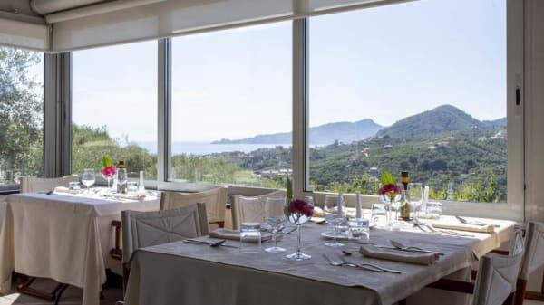 Veranda al chiuso con vista Mare - La Bilaia - L'Agri Ristorante, Lavagna