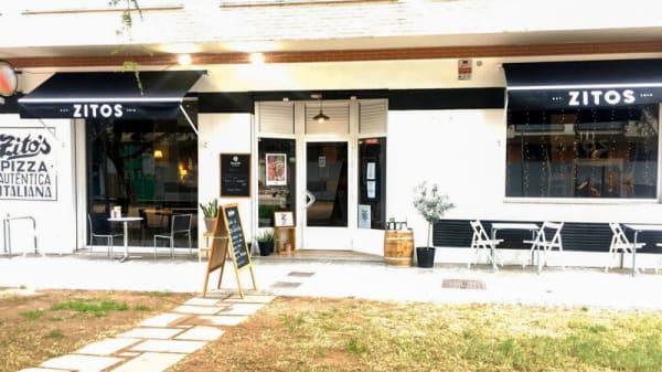 Entrada - Restaurante Zitos, Masanasa