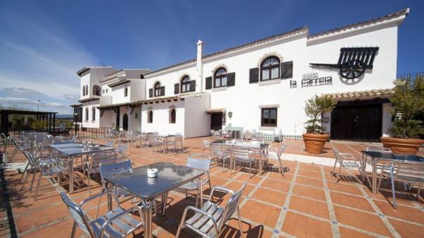 Entrada - La Carreta - Hotel La Carreta, Chiva