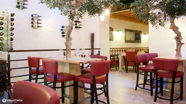 Salle du restaurant - Terroir Divin, Nice