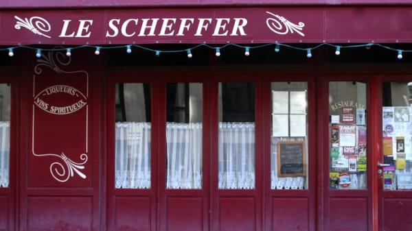 Le Scheffer, Paris